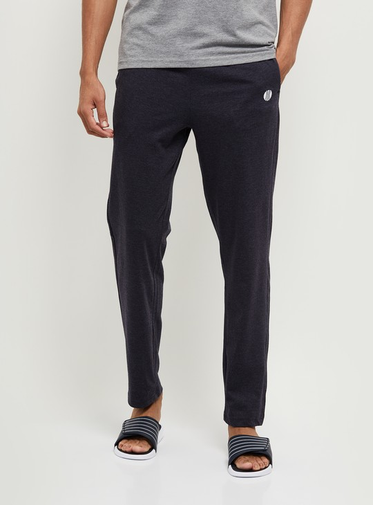 MAX Solid Full-Length Knitted Lounge Pants