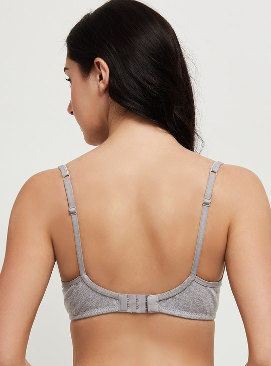 MAX Solid Soft Cup T-shirt Bra