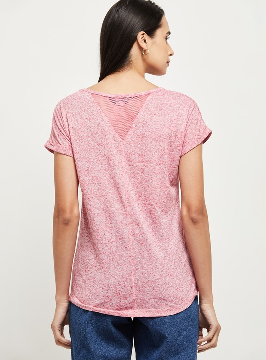 MAX Solid Extended Sleeves T-shirt