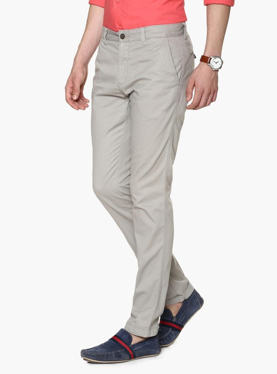 CODE Casual Flat Front Trousers