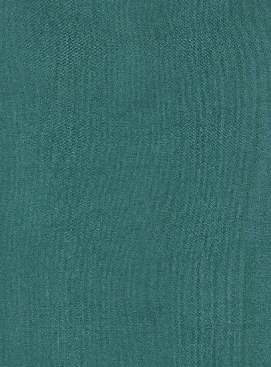 MELANGE Women Foil Print Three-quarter Sleeves Kurta