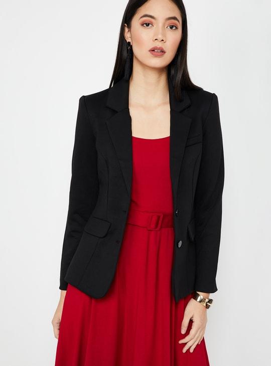 VERO MODA Solid Regular Fit Formal Blazer