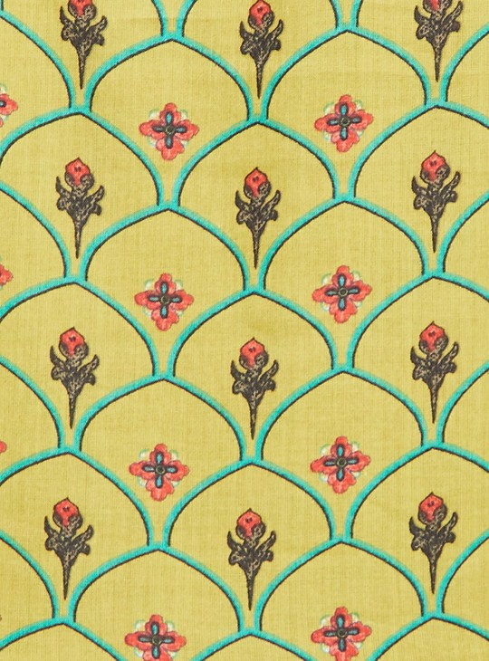 MELANGE Women Printed Floor-Length Anarkali Kurta