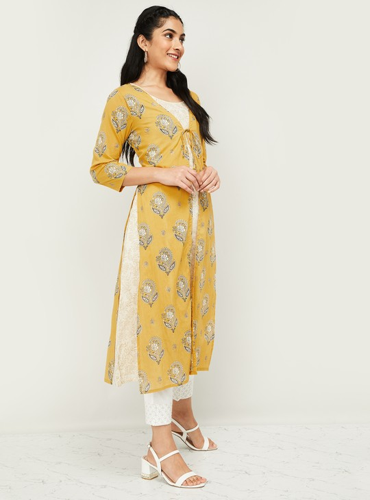 MELANGE Women Printed Two-Piece Kurta