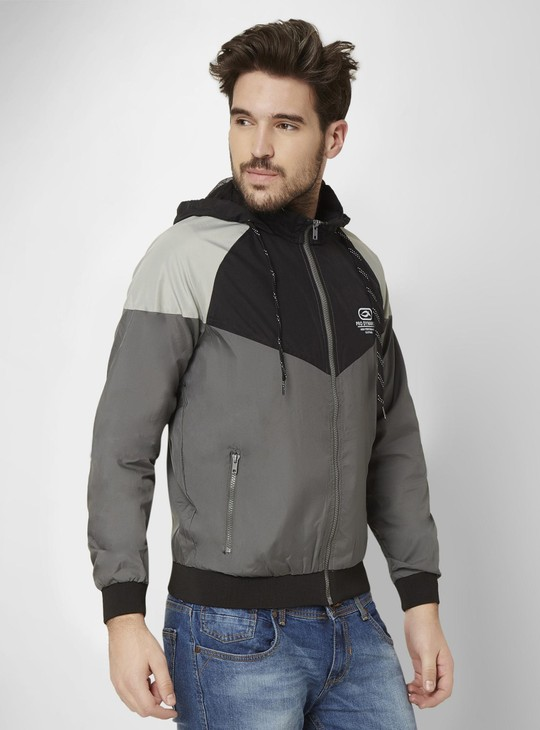 MAX Colour Block Active Hooded Sweatshirt