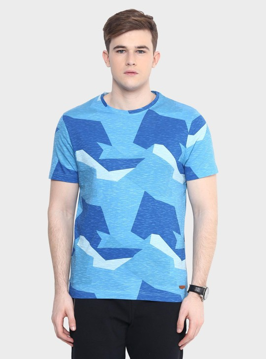 MAX Angular Dimensions Printed T-Shirt