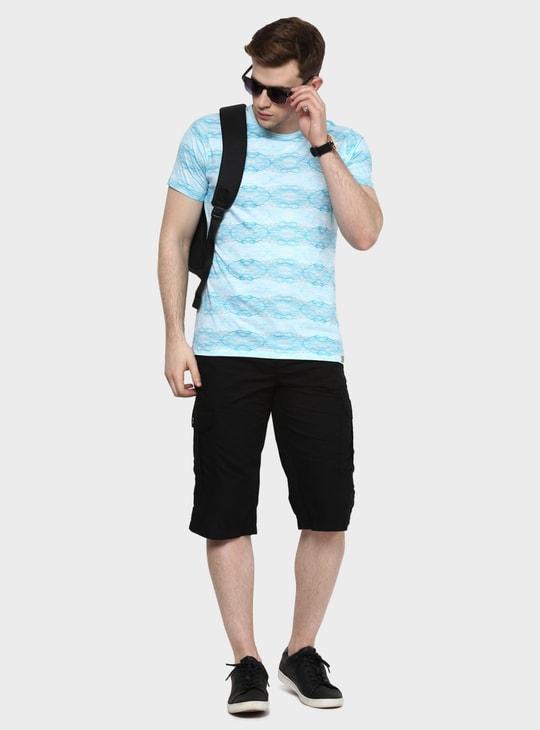 MAX Crew Neck Printed T-Shirt