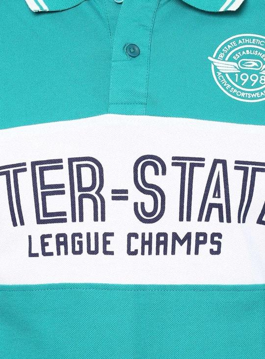 MAX League Champs Polo Neck T-Shirt