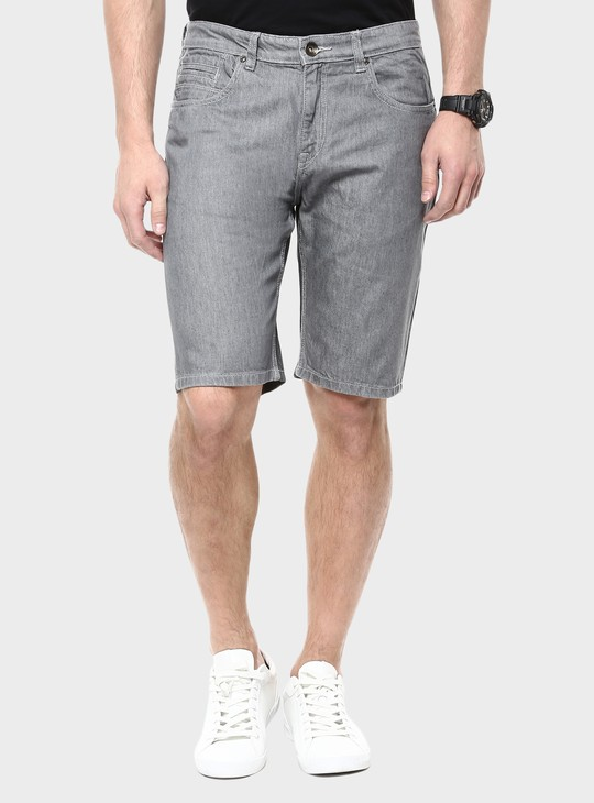 MAX Slim Fit Denim Shorts