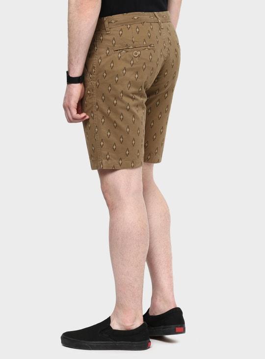 MAX Printed Cotton Shorts
