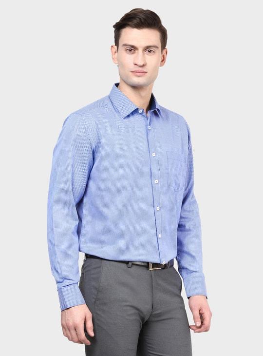 MAX Graph Check Slim Fit Shirt