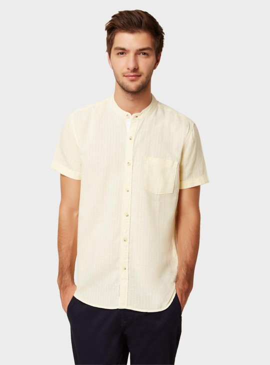 MAX Slim Fit Half Sleeves Shirt