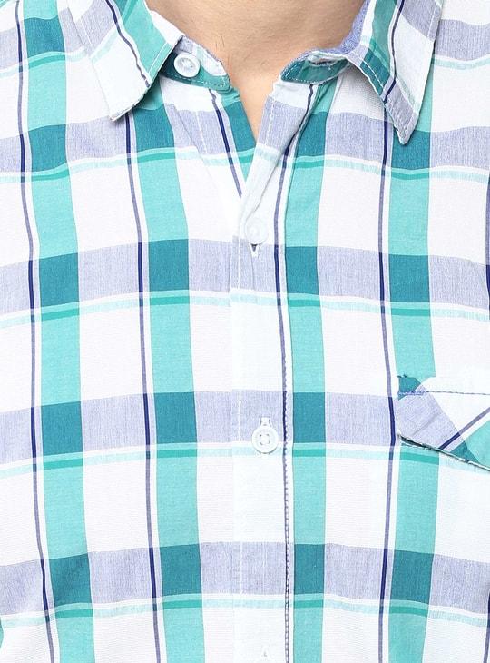 MAX Slim Fit Check Shirt