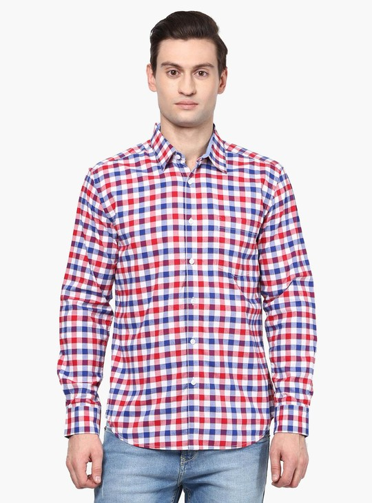 MAX Gingham Checks Full Sleeves Shirt