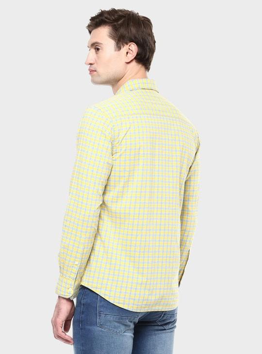 MAX Checks Printed Full Sleeves Shirt