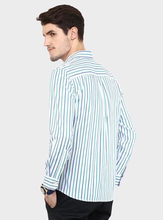 MAX Striped Full Sleeves Shirt