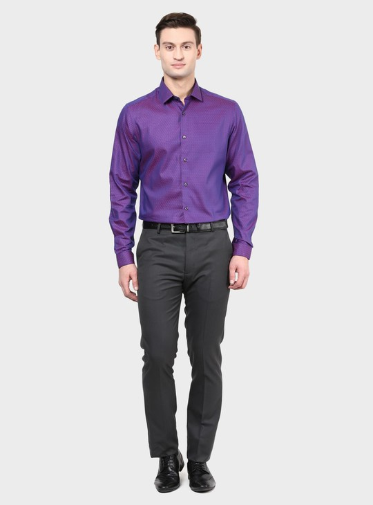 MAX Textured Slim Fit Shirt