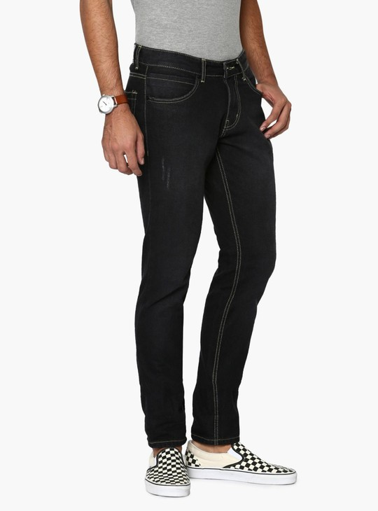 MAX Lightly Distressed Narrow Fit Jeans