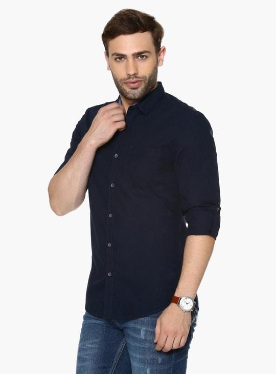 MAX Solid Slim Fit Shirt