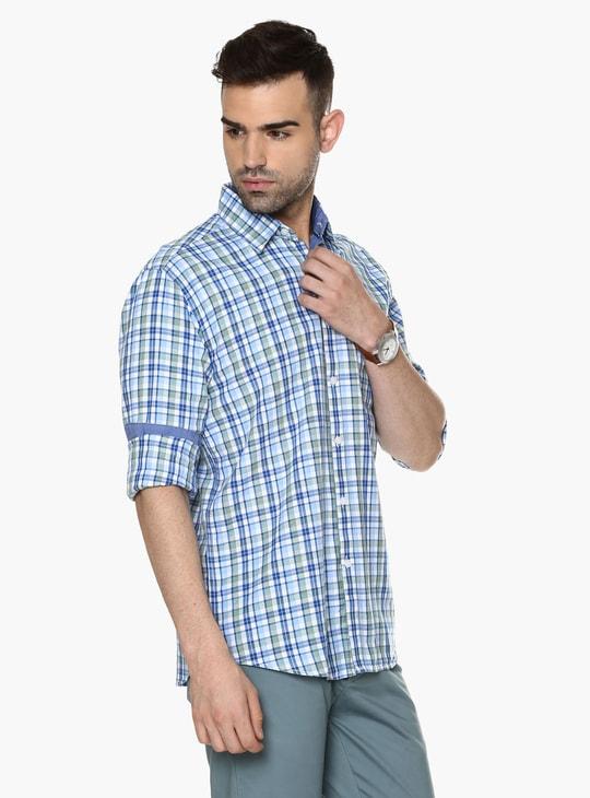 MAX Checks Semiformal Shirt