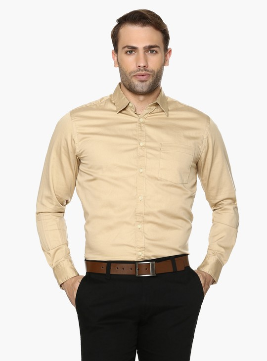 MAX Solid Regular Fit Shirt