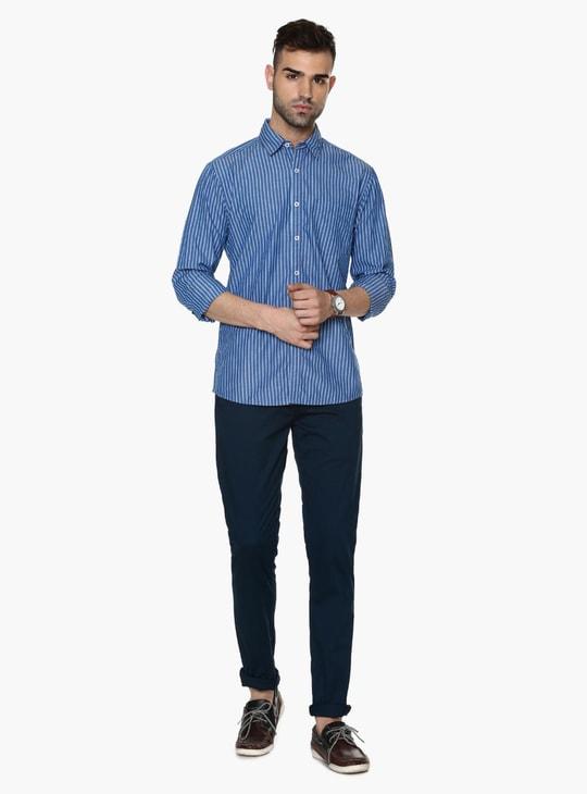 MAX Slim Fit Basic Striped Shirt