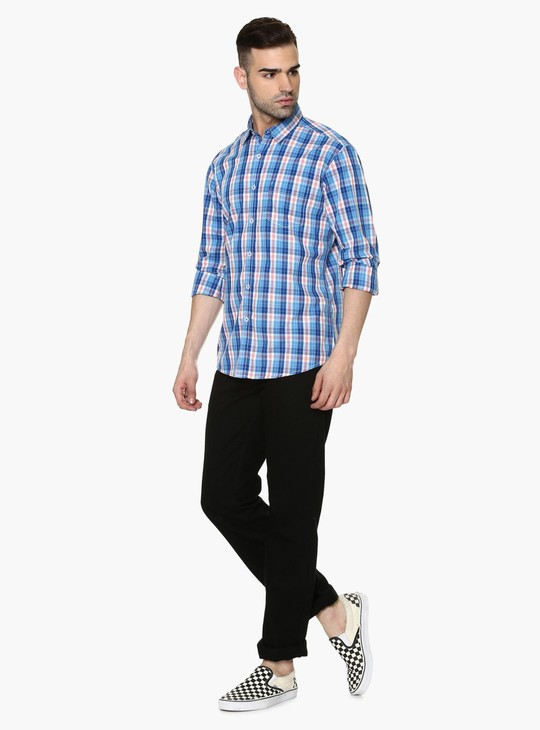 MAX Slim Fit Basic Checks Shirt