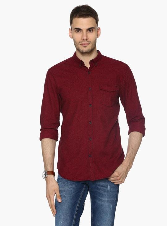 MAX Mini Checks Slim Fit Shirt