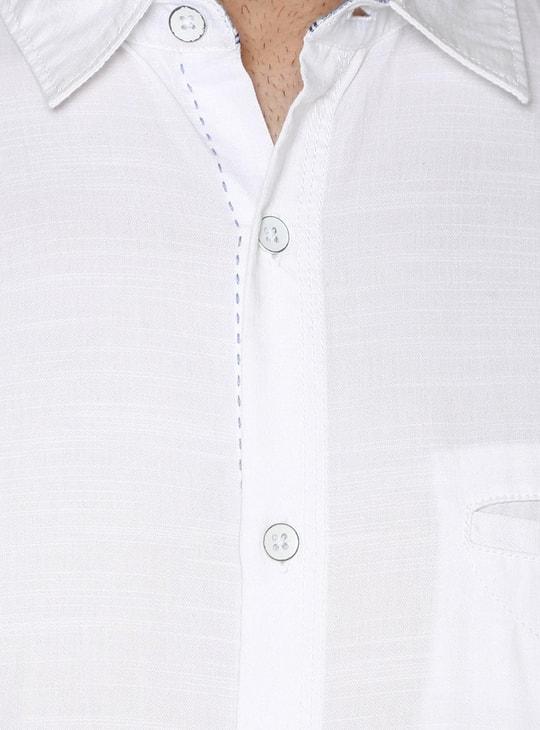 Max Slim Fit Half Sleeves Shirt