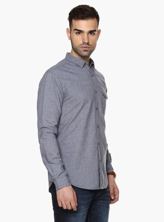 MAX Slim Fit Full Sleeves Shirt