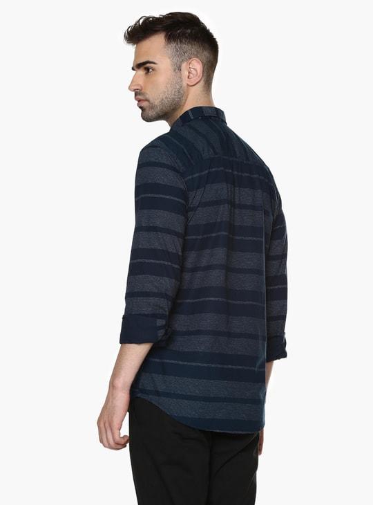 MAX Striped Textured Shirt