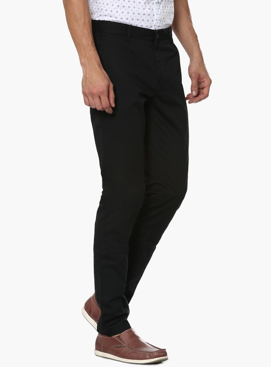 MAX Solid Slant Pocket Pants