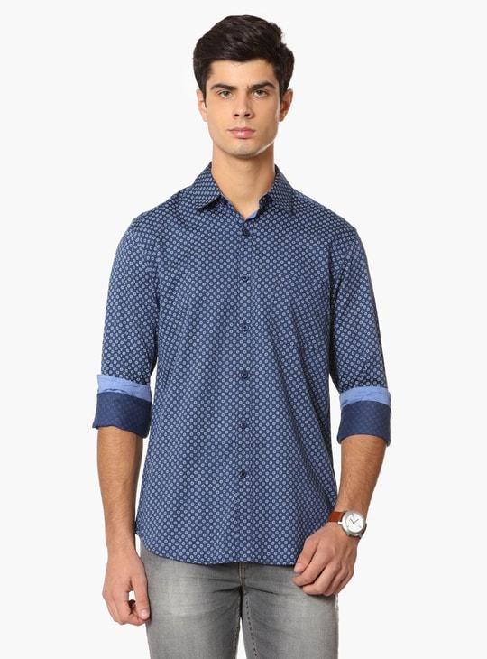 MAX Printed Semi-Formal Shirt