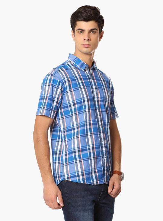 MAX Checked Half Sleeves Shirt