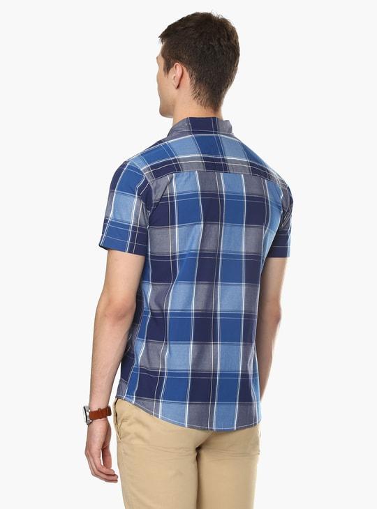 MAX Half Sleeves Check Shirt