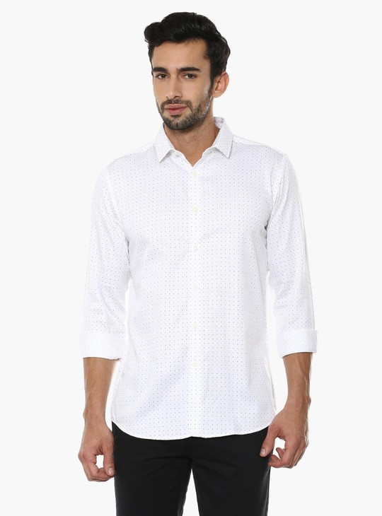 MAX Dot Print Full Sleeves Shirt