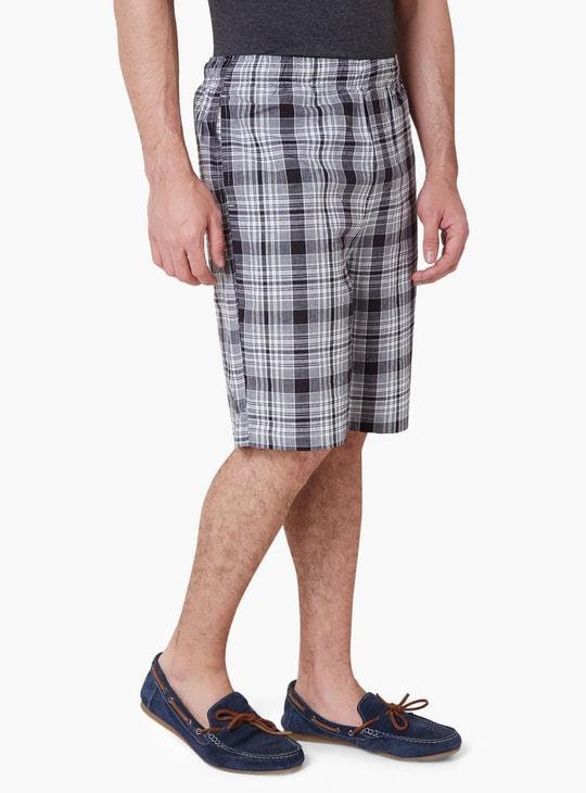MAX Checked Casual Shorts