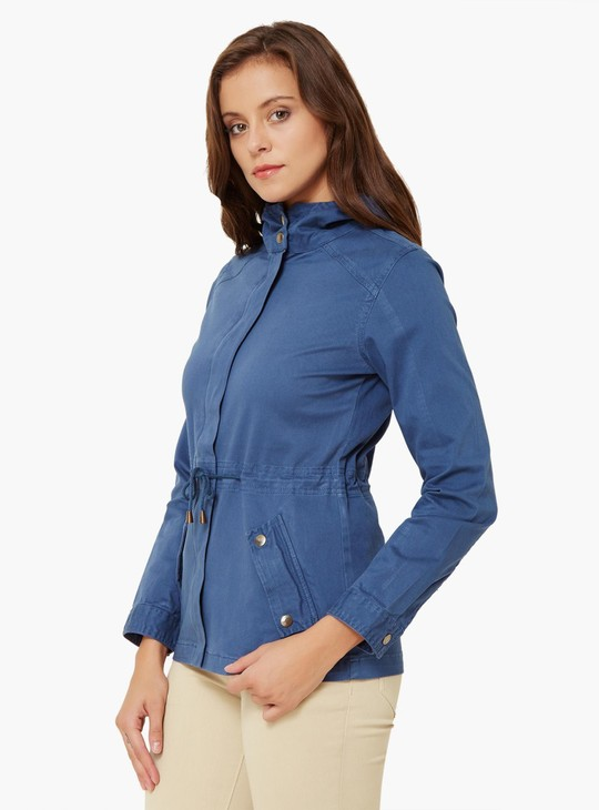 MAX Solid Hooded Jacket