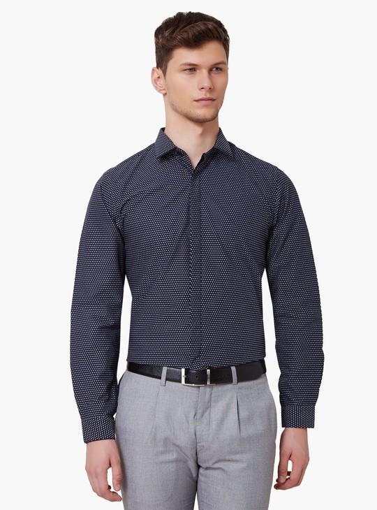 MAX Concealed Button Placket Shirt