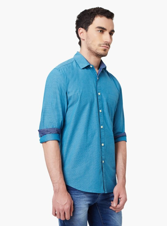 MAX Full Sleeves Chest Pocket Shirt