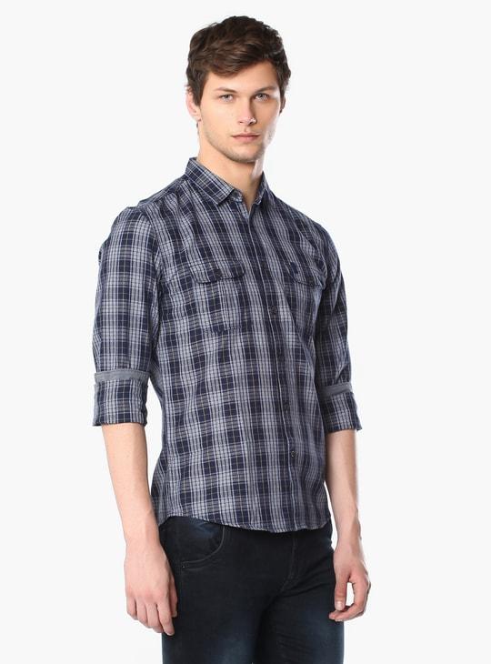 MAX Full Sleeves Check Shirt
