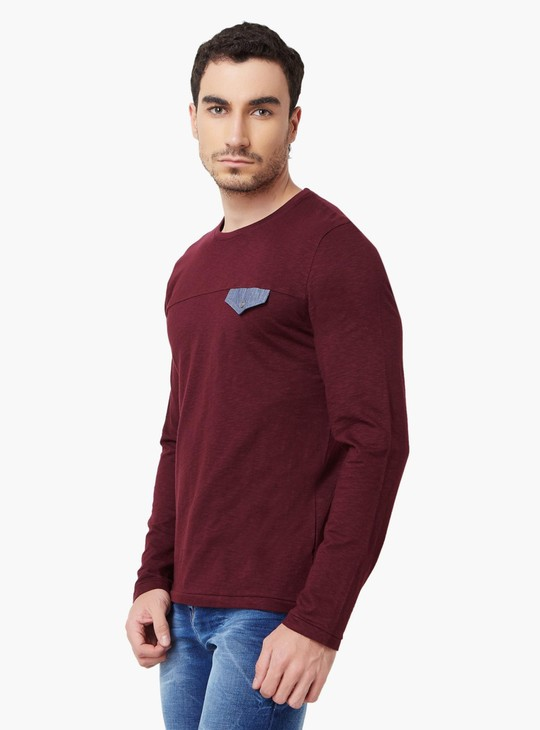 MAX Full Sleeves Crew Neck T-Shirt