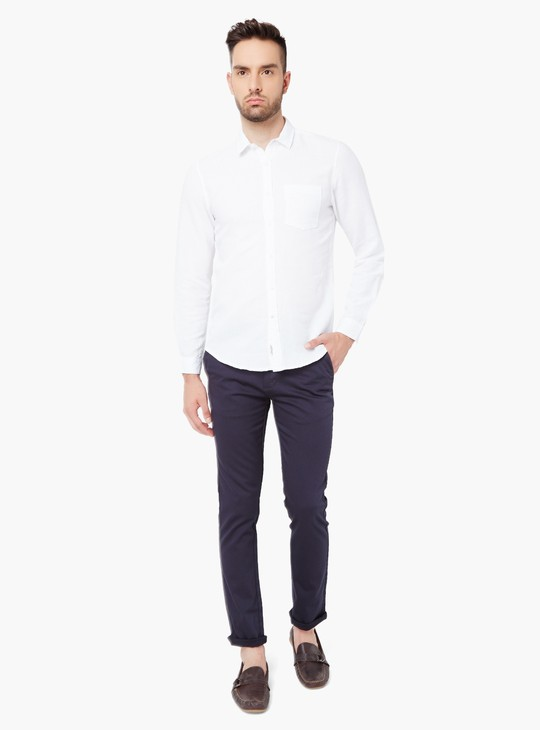 MAX Solid Stretch Slim Fit Chinos