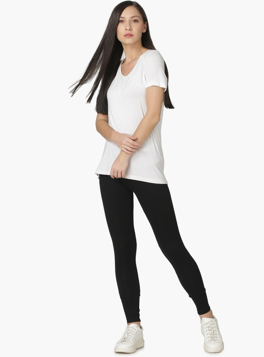 MAX Solid Stretch Leggings