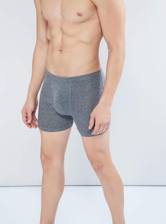 MAX Solid Knitted Trunks- Pack Of 2 Pcs.