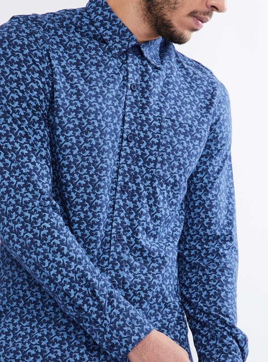 MAX Printed Long-Sleeve Shirt