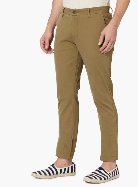 MAX Solid Chino Trousers