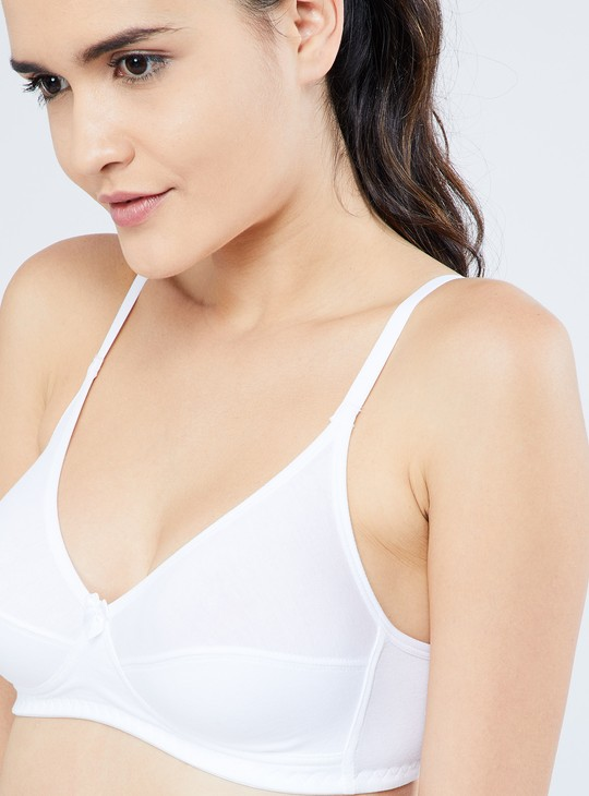 MAX Half-Coverage Heathered Bra