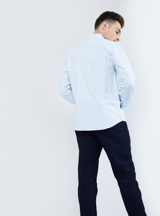 MAX Solid Full-Sleeve Shirt