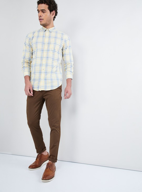 MAX Solid Coin Pocket Trousers